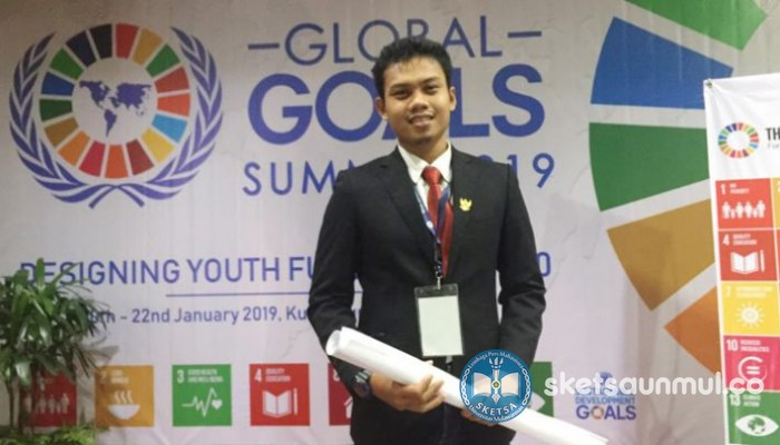Rahmat Aprilian Putra, Duta Global Goals Action Indonesia 2019