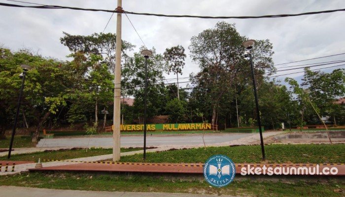 Outdoor Learning Space, Inovasi Pembangunan Unmul di tengah Pandemi