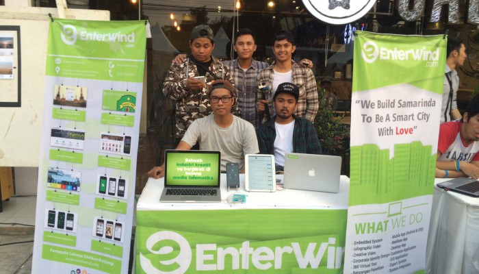 Lewat Enterwind, Usung Samarinda Smart City