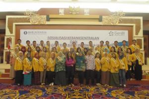 40 Mahasiswa Unmul dilantik Sebagai GENBI Kaltim 2016