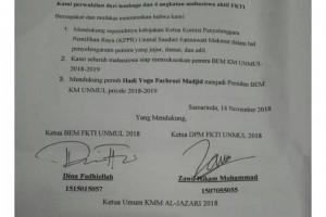 Deklarasi FKTI untuk Presiden BEM KM Unmul