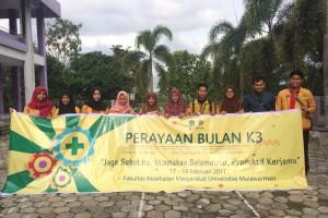 BEM FKM Unmul Gelar Peringatan Bulan K3 Perdana, Sadarkan Mahasiswa Pentingnya Keselamatan Jiwa