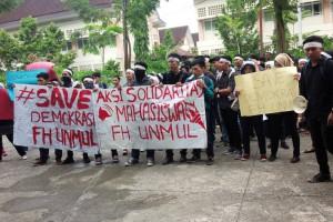 Resah Hak Suara Dikebiri, Mahasiswa FH Ajukan Petisi