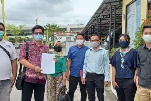 PWI dan AJI Dampingi 5 Jurnalis di Samarinda Lanjutkan Proses Hukum Oknum Aparat
