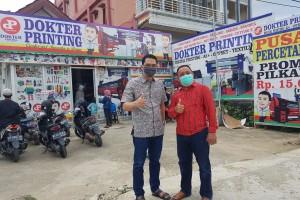 Awalnya Iseng, Usaha Masker Bahzar Dilirik hingga Luar Kalimantan
