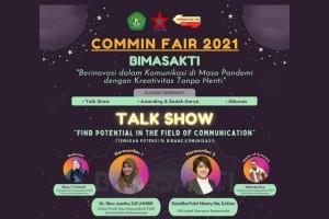 COMMIN FAIR 2021: Inovasi dan Kreativitas dalam Komunikasi di Masa Pandemi