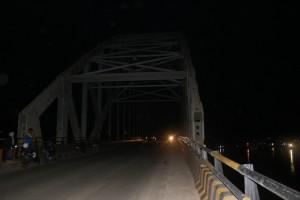 Hari Ulang Tahun Kota Samarinda, Jembatan Mahulu Gelap Gulita