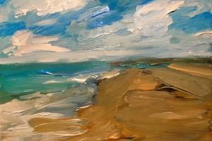 Lamunku pada Angin Laut