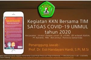 PKP-KKN 46: Pengabdian Mahasiswa selama Pandemi