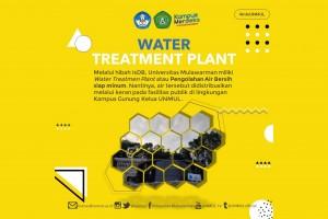 Inovasi Air Siap Minum dengan Water Treatment Plant Unmul