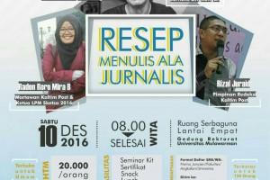 Berbagi Ilmu Jurnalistik Lewat PJTD