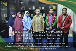 Tingkatkan Imtaq Mahasiswa, Pusdima Gelar Audiensi