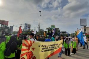 Peringati Hari Buruh, Aliansi BEM Samarinda Desak Jaminan Kesejahteraan Bagi Buruh Indonesia