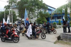 Peringatan Hari Pendidikan Internasional, FKIP Unmul Tolak Massa Aksi AMS