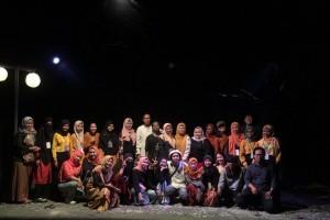 Petang di Taman, Apresiasi Mahasiswa Sastra Indonesia untuk Teater