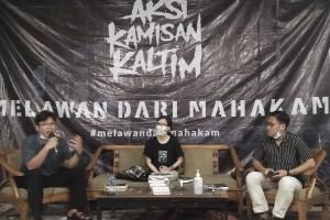 Mengupas Isu Sosial Indonesia Melalui Buku Melawan dari Mahakam
