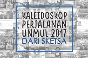 Kaleidoskop Perjalanan Unmul 2017  dari Sketsa